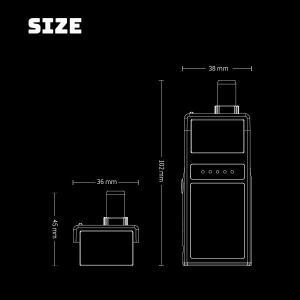 SMOANT Pasito スモアント パシート vape POD型 POD  ポッド 電子タバコ  RBA メール便無料|flavor-kitchen|07
