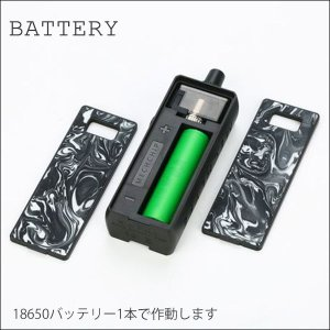 MECHLYFE RATEL Rebuildable POD メックライフ リビルダブル ポッド 電子タバコ vape pod型 18650 ビルド バッテリーセット|flavor-kitchen|07