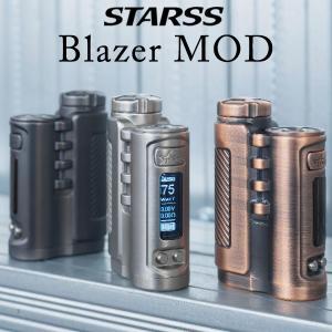 STARSS Blazer MOD スターズ ブレイザー モッド ブレーザー 電子タバコ vape テクニカルBOXMOD 18650 シングル バッテリー|flavor-kitchen