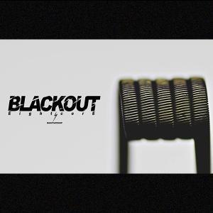BlackoutEightcore プレビルド コイル Ni80 ブラックアウト エイトコア 電子タバコ vape コイル プリメイド クラプトン BlackoutEightcore プレビルド コイル flavor-kitchen