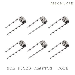 MECHLYFE プレビルドコイル MTL FUSED CLAPTON メックライフ プリメイドコイル 電子タバコ vape ratel|flavor-kitchen