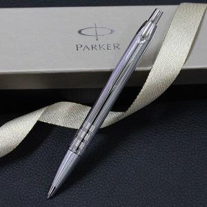 PARKER(パーカー) IMプレミアム シャイニクロームチーゼル CT ボールペン 誕生日 プレゼント|flavor