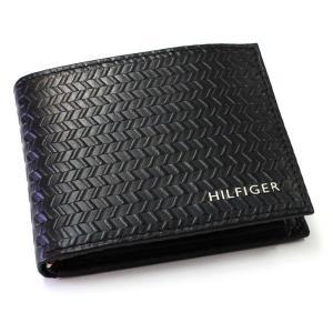 トミーヒルフィガー 財布 メンズ 二つ折り財布 牛革 ブランド財布 人気 flavor