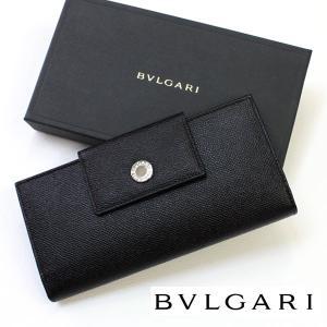ブルガリ 財布 BVLGARI 20401  長財布 ダブルホック 三つ折り長財布 誕生日 プレゼント|flavor