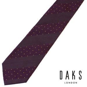DAKS(ダックス) ネクタイ ブランドネクタイ 紳士 男性 誕生日 プレゼント|flavor