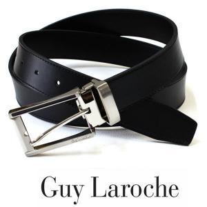 Guy Laroche(ギラロッシュ) ビジネスベルト メンズ 人気 メンズベルト 革 レザー 誕生日 プレゼント|flavor