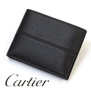 優勝セール Cartier カルティエ 二つ折り財布 メンズ 本革 メンズ財布  プレゼント|flavor