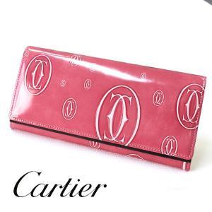 Cartier カルティエ 財布 ハッピーバースディ ピンク...