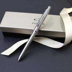 PARKER(パーカー)ソネットオリジナルステンレススチール CT マルチファンクションペン ボールペン 誕生日 プレゼント|flavor