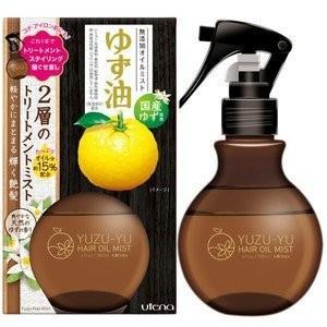 《ウテナ》 ゆず油 無添加オイルミスト 180mL|flavorgift