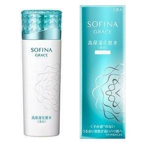 花王 ソフィーナ グレイス 高保湿 化粧水 (美白) さっぱり (140ml)|flavorgift