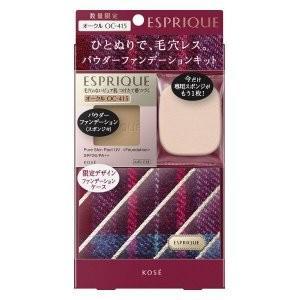 コーセー 化粧品 エスプリーク ピュアスキン パクト UV SPF26・PA++ 限定キット 7 OC-415 オークル|flavorgift