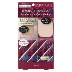 コーセー 化粧品 エスプリーク ピュアスキン パクト UV SPF26・PA++ 限定キット 7 PO-205 ピンクオークル|flavorgift