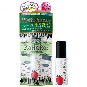 《加美乃素》 KaHoRe:ヘアエッセンス ミックスベリーの香り 30g (洗い流さないヘアトリートメント)|flavorgift