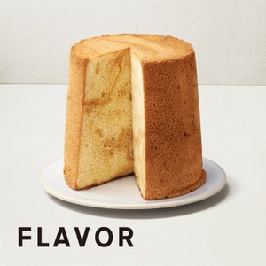 キャラメルバニラ シフォンケーキ 期間限定 ご自宅用 ミドルサイズ 直径16cm|flavoryuji