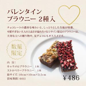 フレイバー バレンタイン ブラウニー(2種入)(数量限定) プレゼント チョコレート バレンタイン