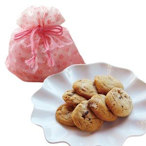*さくら柄の巾着入り* 桜クッキー(7枚入)(お届け期間 3...