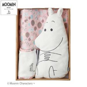 正規品 MOOMIN BABY(ムーミンベビー) ムーミンギフトセット ベーシック ピンク 出産祝い|flclover