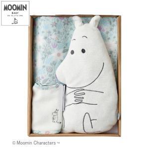 正規品 MOOMIN BABY(ムーミンベビー) ムーミンギフトセット ベーシック ミント 出産祝い|flclover