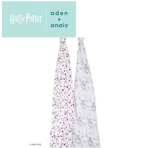 日本正規品 aden+anais(エイデンアンドアネイ) ハリーポッターコレクション 2枚セット おくるみ swaddle スワドル|flclover