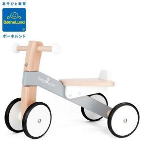 正規品 ボーネルンド 木の四輪バイク バヨ|flclover