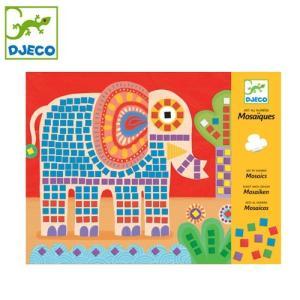 正規品 DJECO(ジェコ) モザイク エレファント&スネイル flclover