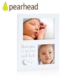正規品 pearhead(ペアヘッド) ムーン&バック・コラージュフレーム フォトフレーム 写真立て