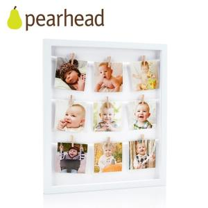正規品 pearhead(ペアヘッド) クローズピン・コラージュフレーム フォトフレーム 写真立て