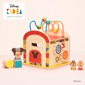 Disney KIDEA(キディア) BUSY BOX ミッキー&フレンズ ルーピング 正規品|flclover