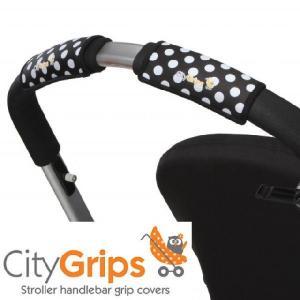 正規品 (ネコポス対応) CityGrips(シティグリップ)グリップカバー・シングル ポルカドット flclover