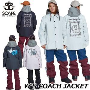 20-21 SCAPE エスケープ レディースウエアー  SNOW WEAR  W's COACH ...