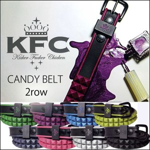 KFC キッカーファッカーチキン  Kicker Fucker Chicken 女性用 CANDY ベルト 2row /メール便不可/【返品種別SALE】