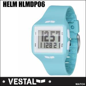 VESTAL ベスタル WATCH 腕時計  HELM HLMDP06/SeaFoam /White Positive /【返品種別SALE】|fleaboardshop01