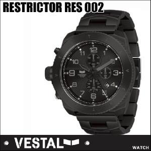 VESTAL ベスタル WATCH 腕時計  RESTRICTOR RES002/Black /Black  /Black/【返品種別SALE】|fleaboardshop01