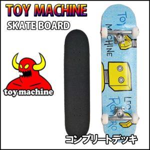 TOY MACHINE skate  トイマシーン スケボー コンプリート ROMERO TOON TIME 7.5|fleaboardshop01