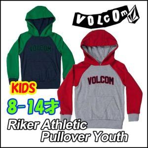 ボルコム パーカー キッズ VOLCOM フード  Riker Athletic Pullover Youth  8-14才向け Kids ヴォルコム 【返品種別SALE】|fleaboardshop01
