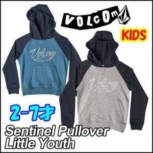 ボルコム パーカー キッズ VOLCOM   フード  Sentinel Pullover Little Youth  2-7才向け  Kids ヴォルコム 【返品種別SALE】|fleaboardshop01