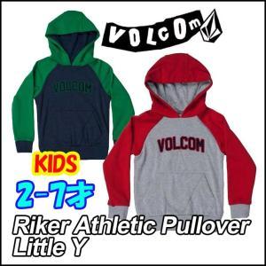 ボルコム パーカー キッズ VOLCOM   フード  Riker Athletic Pullover Little Y   2-7才向け  Kids ヴォルコム 【返品種別SALE】|fleaboardshop01