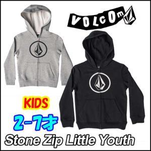 ボルコム パーカー キッズ VOLCOM   ジップ フード  Stone Zip Little Youth  2-7才向け  Kids ヴォルコム 【返品種別SALE】|fleaboardshop01