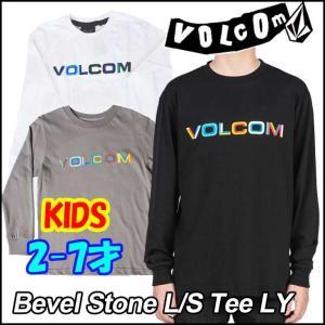ボルコム Tシャツ 長袖 キッズ VOLCOM  Bevel Stone L/S Tee LYh  2-7才向け Kids ヴォルコム 【返品種別SALE】|fleaboardshop01