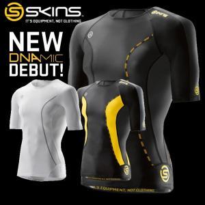 スキンズ skins DNAmic  メンズ ショートスリーブ トップ ディーエヌエーミック  メール便可|fleaboardshop01