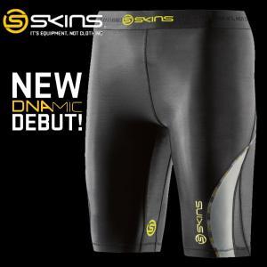 スキンズ skins DNAmic  ウィメンズ ハーフタイツ Half Tights ディーエヌエーミック  メール便可|fleaboardshop01