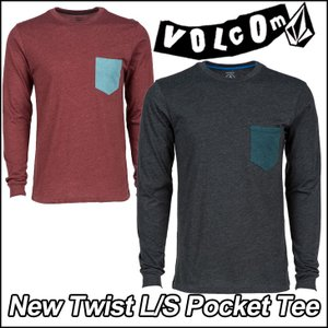 volcom ボルコム tシャツ ロンT メンズ ティー  New Twist L/S Pocket...