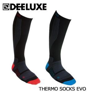 DEELUXE ディーラックス サーモソックス スノーボード ソックス 靴下 THERMO SOCK...