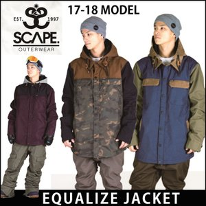 SCAPE 17-18 エスケープ ウエア EQUALIZE...