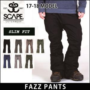 SCAPE 17-18 エスケープ ウエア FAZZ PAN...