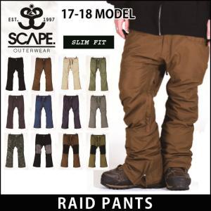 SCAPE 17-18 エスケープ ウエア RAID PAN...