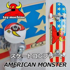 スケートボード コンプリート TOY MACHINE トイマシーン  AMERICAN MONSTER 7.875 完成品 スケボー SKATE COMPLETE|fleaboardshop01