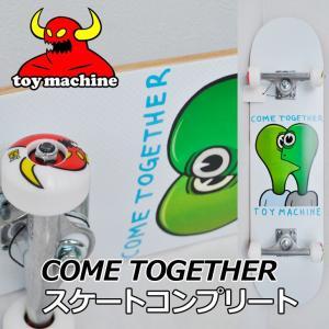 スケートボード コンプリート TOY MACHINE トイマシーン  COME TOGETHER 7.75 完成品 スケボー SKATE COMPLETE|fleaboardshop01