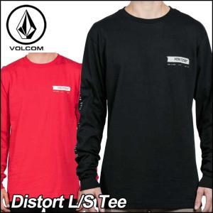 VOLCOM ボルコム tシャツ ロンT メンズ Distort L/S Tee 長そで ヴォルコム...